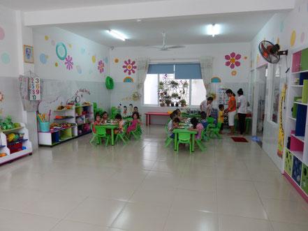 Klassenzimmer Vorschule