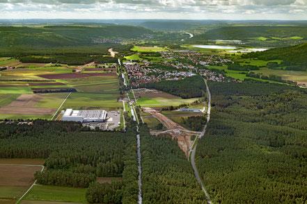 Im Landkreis Neumarkt i.d.OPf. wird derzeit die rund 5 Kilometer lange Ortsumgehung von Mühlhausen gebaut. Foto: Staatliches Bauamt Regensburg