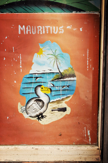 Mauritius old advertisment