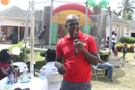 Abdul, PTA Chairman hosting the Family Fun Day Out
