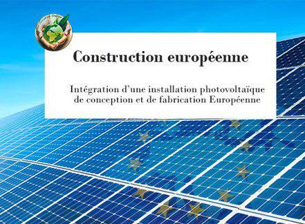 construction photovoltaique européenne dans l'Hérault