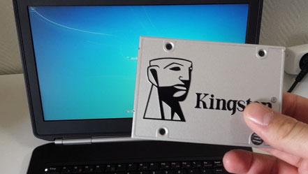 Changement du disque dur par un SSD Kingston