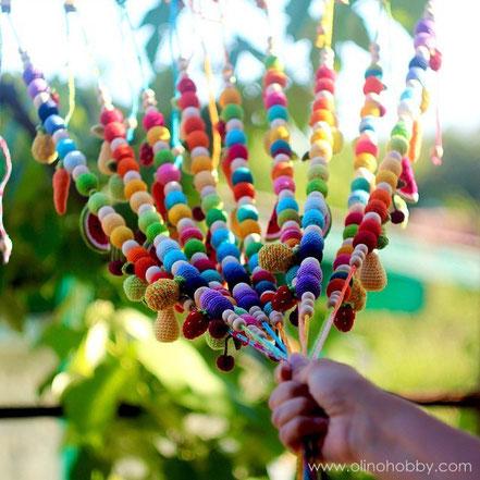 Вязаные слингобусы с фруктами OlinoHobby, фруктовые слингобусы.