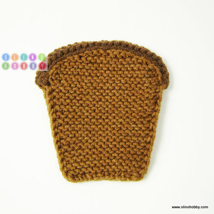 knitted bread