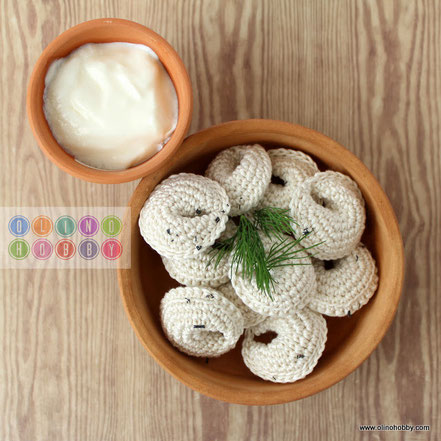 crochet meat dumplings