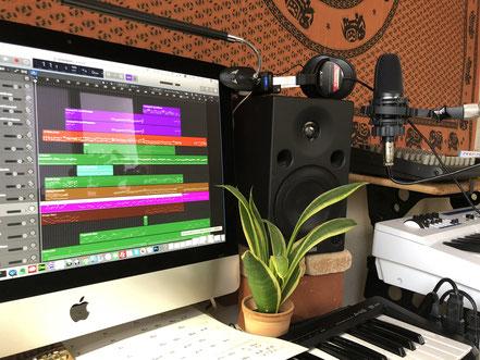 マシュケのレコーディング環境1
