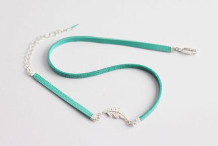 bracelet multitours cuir, bijoux lanières de cuir, bracelet plume argent, bijoux mint, bijoux fin, bracelet ethnique chic, sarayana