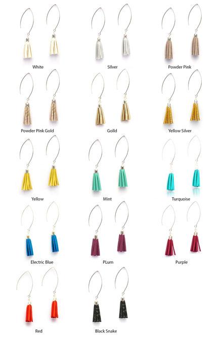 sarayana, création bijoux, créateur bijoux, boucles d'oreilles, boucles d'oreille pompon, pompon cuir, boucles d'oreille jaune argenté, boucles d'oreille cuir, bijoux cuir, boucles d'oreilles gipsy, ethnique, bohême