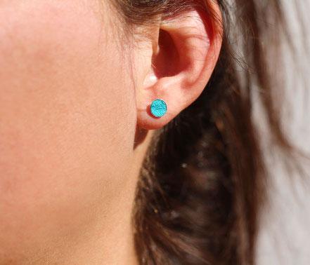 boucles d'oreille de lobe, bijoux de lobe, boucles d'oreille avant-arrière, bijou dessous de lobe, earcuff, bijou d'oreille argent