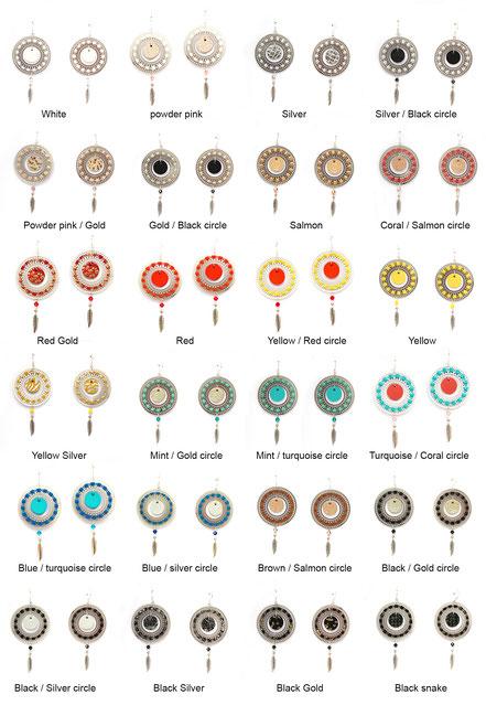 bijoux créateur, bijou fait main, bijoux cuir, créateur de bijoux, créatrice bijou, boucles d'oreille cuir, bijoux jaune, boucles d'oreille jaune et argent, boucles d'oreille créôle, boucles d'oreille argent, bijoux plume, plume argent, sarayana,