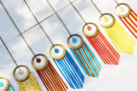 sarayana, bijoux cuir, sautoir cuir, sautoir franges, franges de cuir, sautoir ethique chic, sautoir hippie chic, sautoir été, bijoux fait main, création bijoux, créateur bijoux