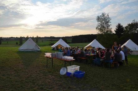 Sommerzeltlager der Kolpingjugend