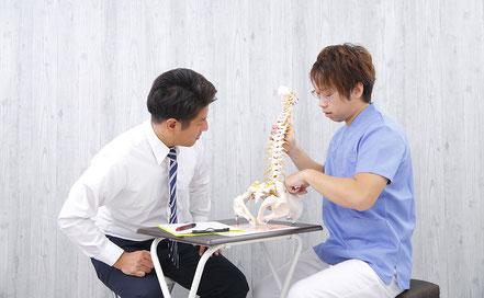 患者様に安心していただける施術を行います。