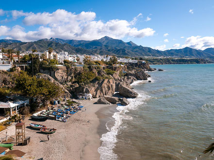 Playa Kilahonda in Nerja