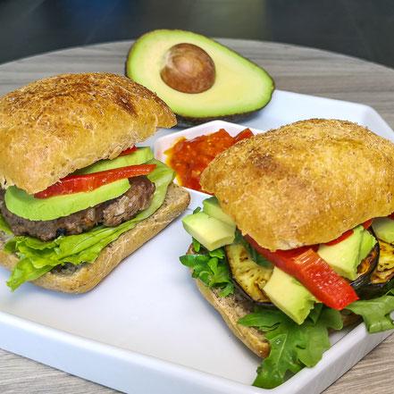 Gesunde Brotzeit: Kalte Burger