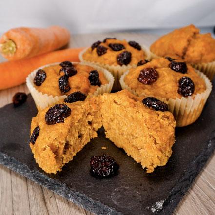 Gesunde Brotzeit: Karottenmuffins
