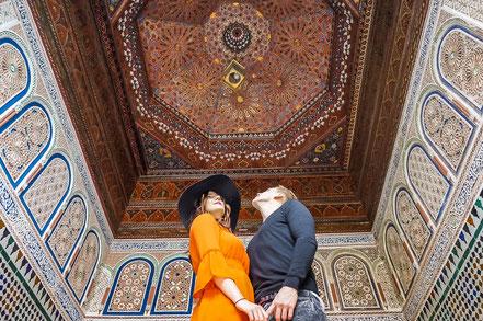Palais Bahia in Marrakesch