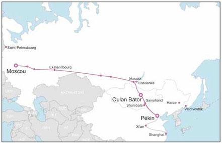 transsibérien de Moscou à Pékin