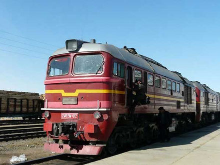 transsibérien - en gare - voyage transsiberien