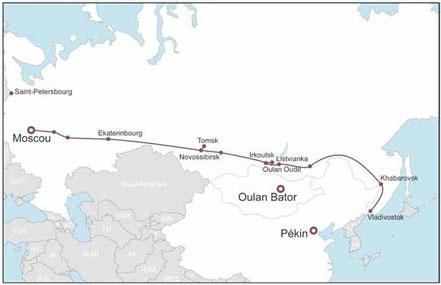 transsibérien de Moscou à Vladivostok