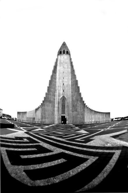 Island - Reykjavík - Hallgrímskirkja