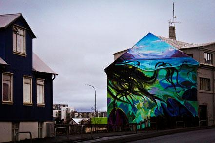Island - Reykjavík - Streetart