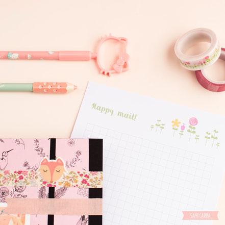 Happy Mail = Día Feliz!!! by Sami Garra