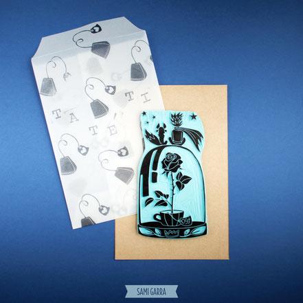 Nueva colección de sellos: Ta Té Ti by Sami Garra