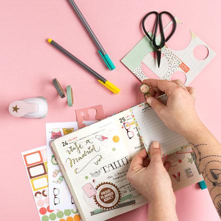 Cómo sacarle partido a tu kit de agenda by Sami Garra