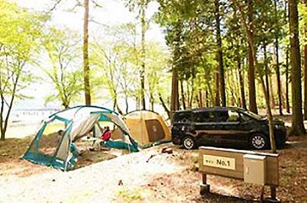 ながた自然公園キャンプ場