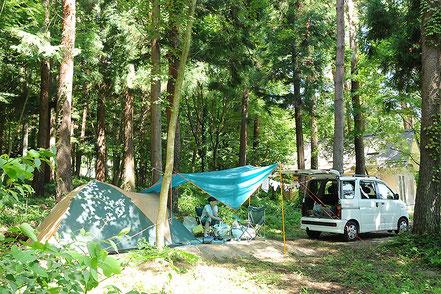 【特選】向山世男】新生オートキャンプ場