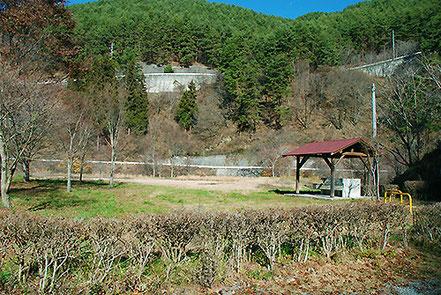 樽尾沢キャンプ場 もみじ湖(箕輪ダム)