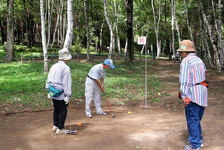 マレットゴルフ ながた自然公園