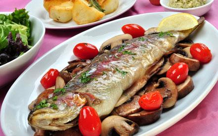 Frischer Fisch von Erich Diechtl