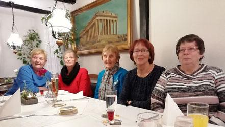 Stammtisch bei Kavala in Blankenstein