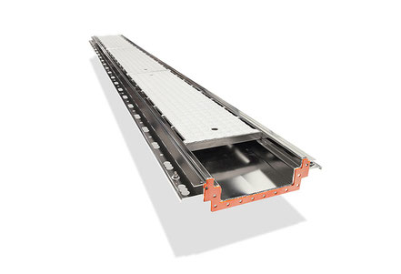Stemar box gutter with cover plate