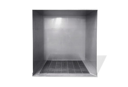 Stemar stainless steel cleaning cabin