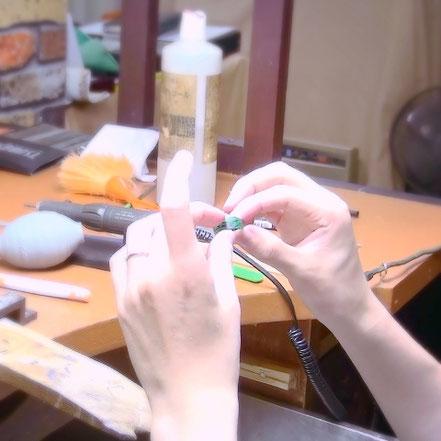 東京で婚約指輪を手作り