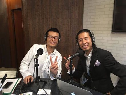 ゲストのゆめのたね放送局共同代表佐藤大輔さん