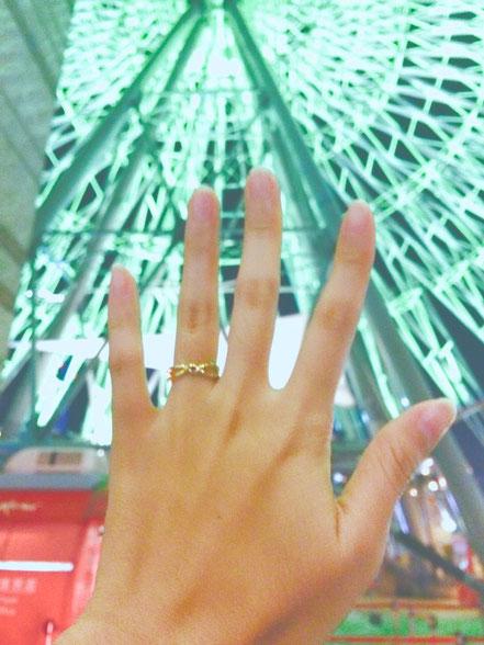 東京で婚約指輪を自分で手作りする