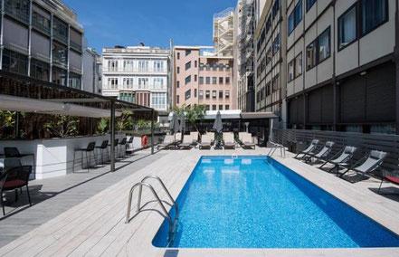 Catalonia Plaza Catalunya - отели в центре Барселоны 4 звезды