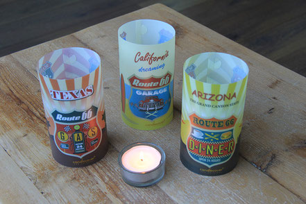 Candlecover Tischdekoration