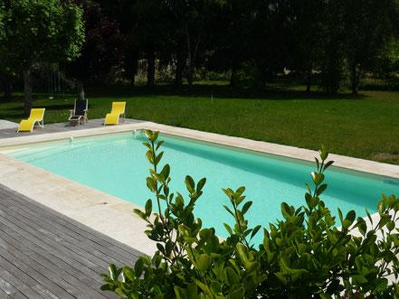 chambres d'hôtes et gîte avec piscine chauffée proche chenonceau et amboise