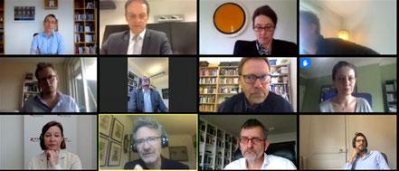 Eine digitale Gesprächsrunde mit dem britischen Wirtschaftshistoriker Adam Tooze