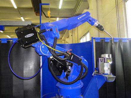 Motoman HP20-6 - das Schweißroboter 2