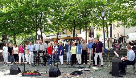 2002 VaRiaTionS mit Leiter Werner Jung