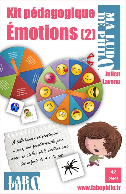 Philo pour enfants, émotions, roue des émotions
