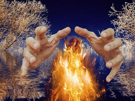 le verrepour se protéger du feu et de la chaleur