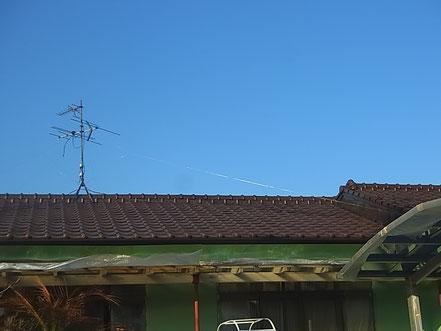 熊本市T様家屋根の塗装完成。全体写真ブラウンカラー