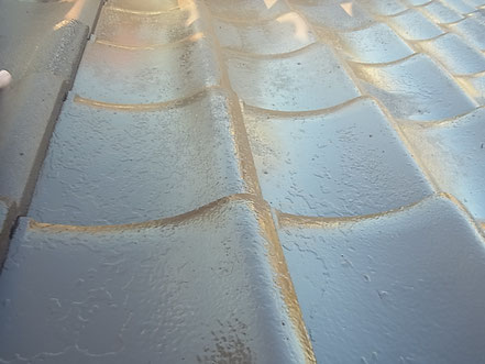 熊本市T様家屋根の塗装完成。